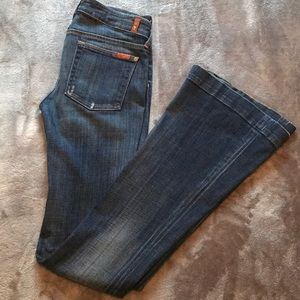 7 for all Mankind Flare Bottomed Jeans